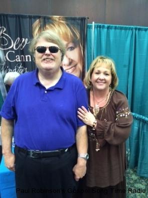 Paul with Beverly McCann