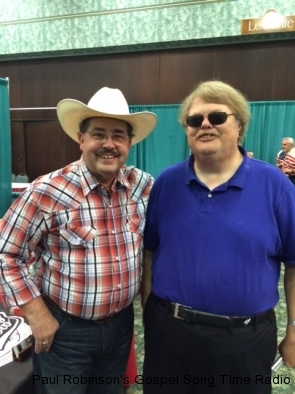 Paul with Cowboy Jim Shelton