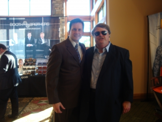 Paul with Michael Booth of the Booth Brothers