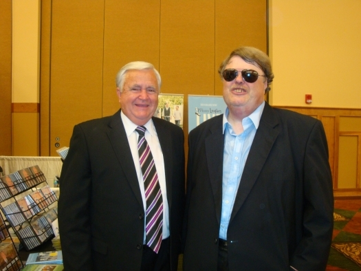 Paul with Archie Watkins of Archie Watkins and Smoky Mountain Reunion