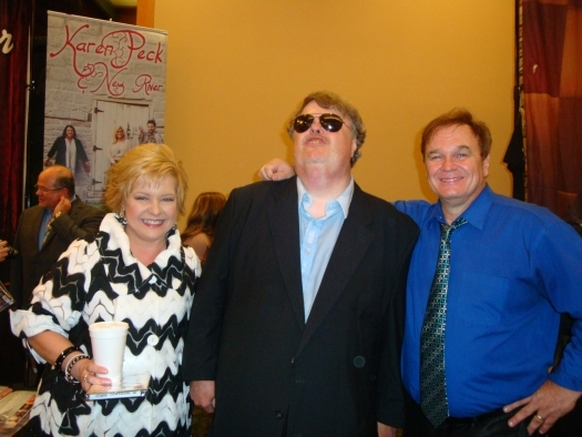 Paul with Jeff and Sheri Easter