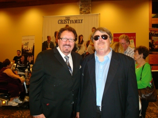 Paul with Ronny Hinson of the Original Hinsons