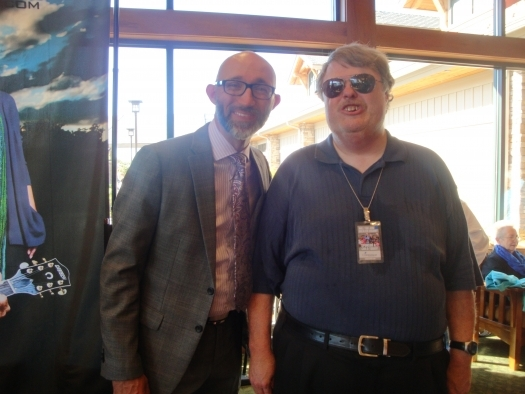 Paul with Matthew Browder of The Browders