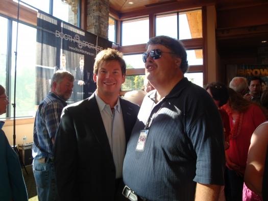 Paul with Jim Brady of the Jim Brady Trio