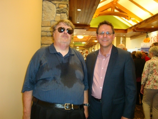 Paul with Mike Bowling of the Mike Bowling Family