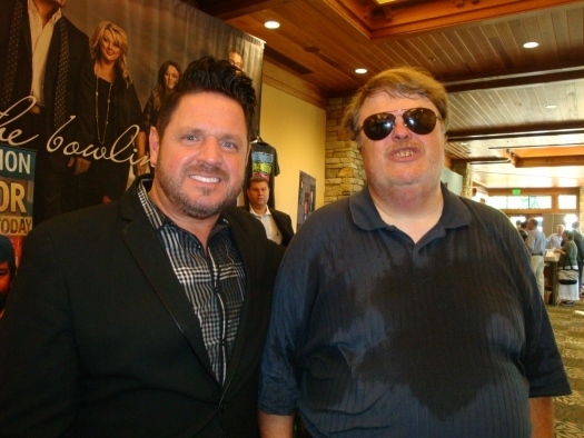 "Paul with Dr. Dennis Swanberg aka ""The Swan"""