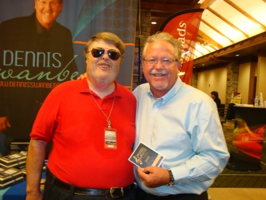 Paul with Ray Dean Reese of the Kingsmen Quartet