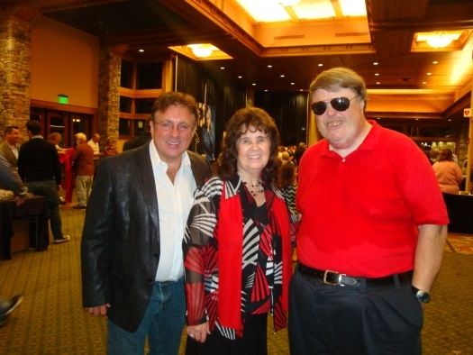 Paul with Phil and Kim Collingsworth of the Collingsworth Family