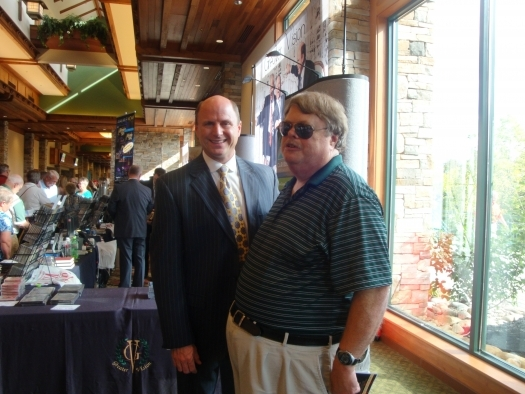 Paul with Rodney Griffin of Greater Vision
