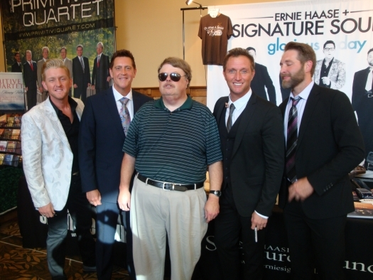 Paul with Ernie Haase and Signature Sound Quartet