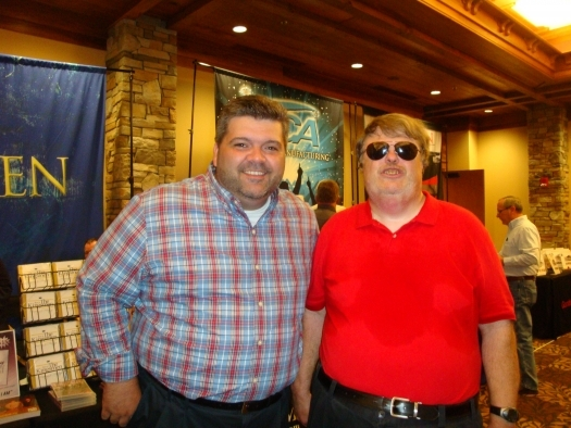 Paul with Jeff Chapman of the Kingdom Heirs